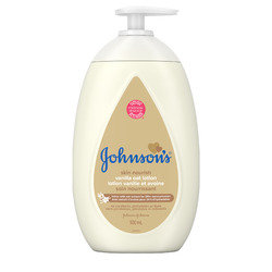 Johnson's Baby Lotion, Vanilla Oatmeal, 15-Ounce Bottles (Pack of 6)