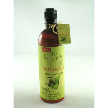 The Healing Garden Organics Body Lotion Olive and Aloe 8 oz.