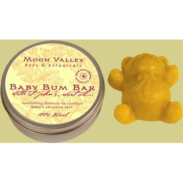 Moon Valley NEW! Baby Bum Bar With Organic St. Johns Wort Oil.