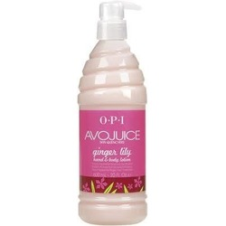 OPI Avojuice Ginger Lily Lotion 20 oz.
