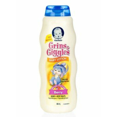 Gerber Grins & Giggles Baby Lotion, Berry 15 Oz.