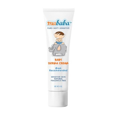Mababa Baby Derma Cream, 4-Ounce (Pack of 2)