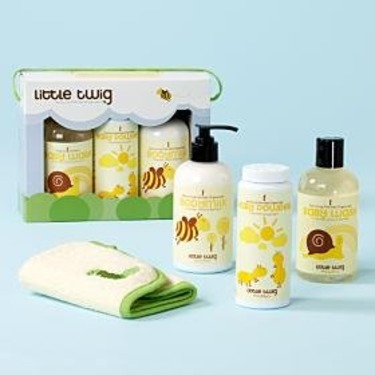 Little Twig Organic Baby Basics Gift Set- Made in USA