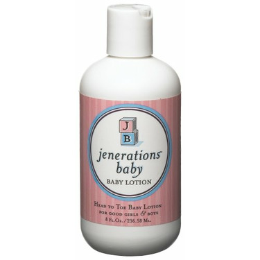 Jenerations Baby Lotion, 8-Ounce Bottles (Pack of 4)