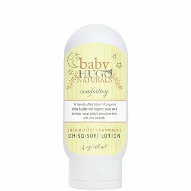 Hugo Naturals, Baby, Shea Butter Chamomile Oh-So-Soft Lotion, 4 oz (118 ml)
