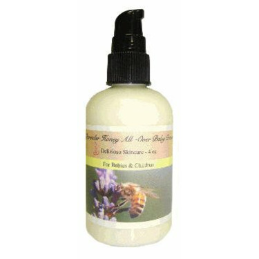 Organic Lavender and Honey Baby Lotion