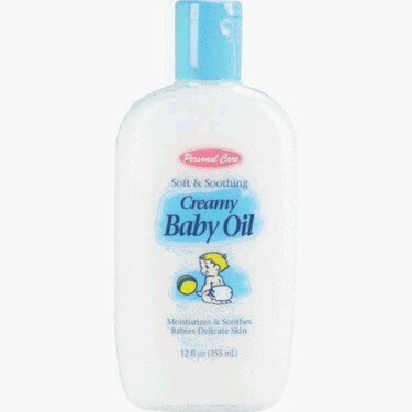 Personal Care Prod 90544 Creamy Baby Oil (Pack of 12)