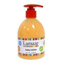 Lamaze Baby Lotion 10 oz - orange - Made with organic ingredients