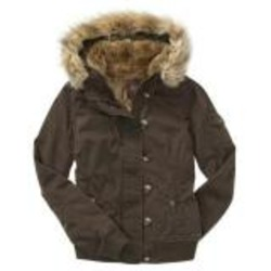Old Navy's Women's Cropped Military Hooded Jackets
