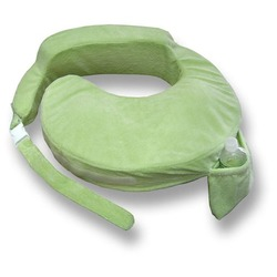 My Brest Friend Deluxe Pillow, Light Green
