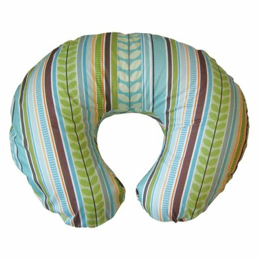 Boppy Pillow with Park Hill Slipcover - Green