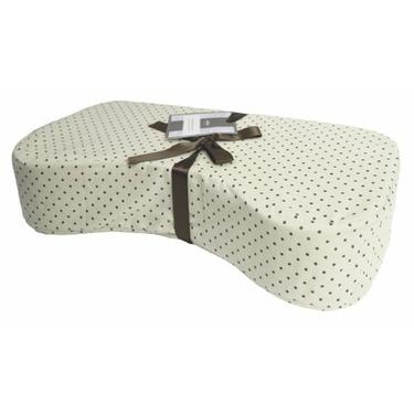 Kushies Nursing Pillow, Cream Polka Dots
