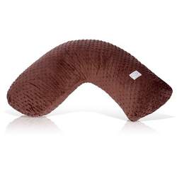 Luna Lullaby Bosom Baby Nursing Pillow - Brown and Chocolate Dot