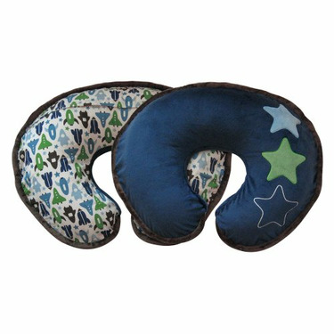 Boppy Pillow with DwellStudio® Space Slipcover - Blue