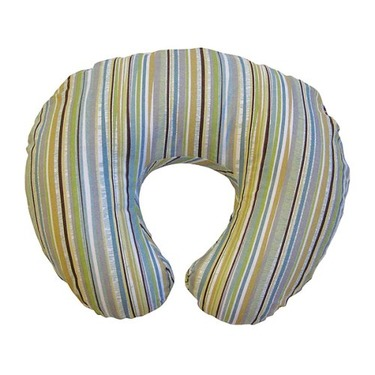 Boppy Pillow and Slipcover - Outdoor Stripe