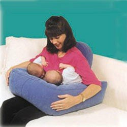 "EZ-2-Nurse Twins"" Plush Feeding Pillow (Lime)"