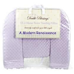 Twin-Nursing-Pillow - color: Lavender