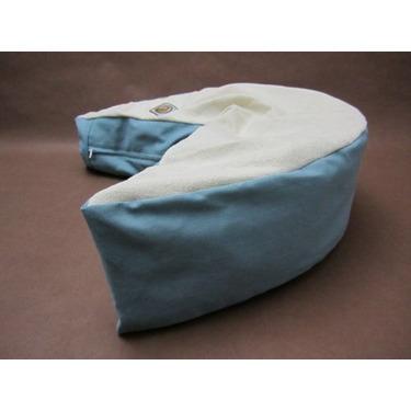 The Nesting Pillow- Organic Nursing Pillow with Aqua Washable Slipcover