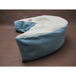The Nesting Pillow- Organic Nursing Pillow with Aqua Washable Slipcover