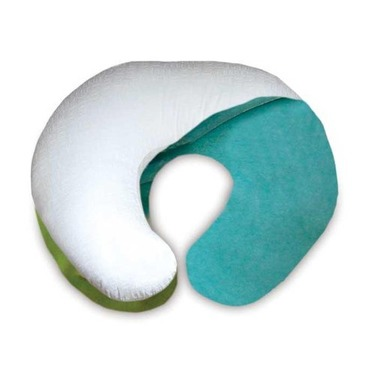 Boppy Frosty Boa Slipcover - Green/ Blue