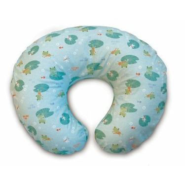 Boppy Pillow and Slipcover - Lily Pad