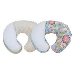 Boppy 2-Sided Bloom/Confetti & Stripes 2-pk. Slipcover