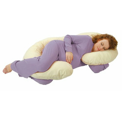 OrganicSmart by Leachco Snoogle Body Pillow - Natural Ivory