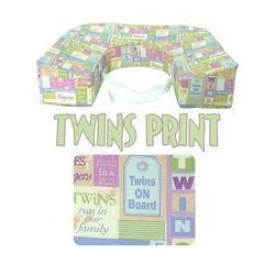Twin Nursing Breastfeeding Pillow Twins Print