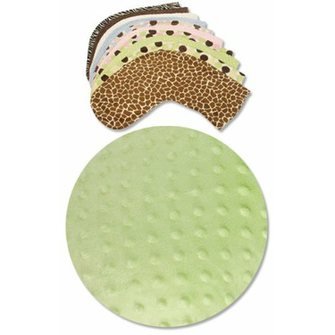 Bosom Baby Nursing Pillow Slip Covers, Sage Dot