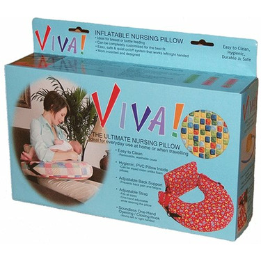 VIVA! Breastfeeding Pillow, 2007 iParenting Best Product Award Winner, Mom Invented