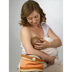 CozyFeed Adjustable arm rest pillow for breast and bottle feeding - Red