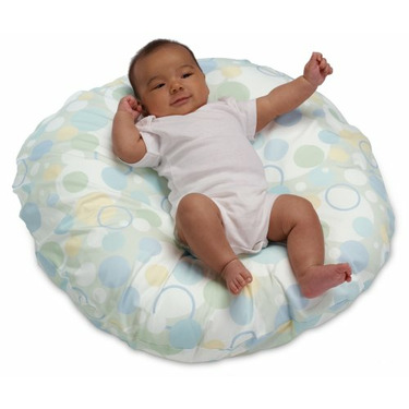 Boppy Luxe Newborn Lounger with Slipcover, Pastel