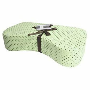 Nursing Pillow in Green Dot