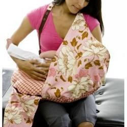 Belly Fish Nursing Cover and Pillow PINK