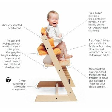 Stokke Tripp Trapp High Chair Finish: White