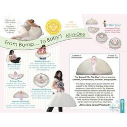 BUMPIL ALL IN ONE 1 BABY SUPPORTING PILLOW FOR NURSING