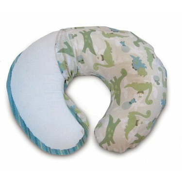 Boppy 2-Sided Dino Derby/Star Power 2-pk. Slipcover - Green