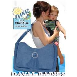 Nursing/ Bottle Feeding Baby Pillow - 1st Time MOM (Peek-a-blue)