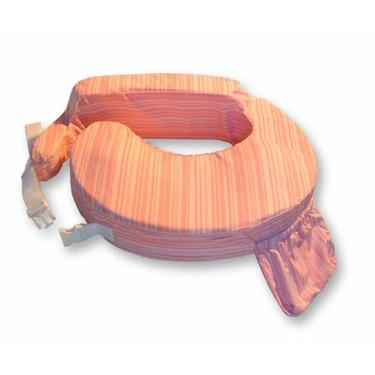 My Brest Friend Pink Stripe Pillow