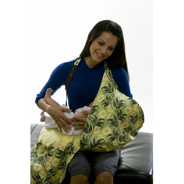 Belly Fish - Breastfeeding Pillow & Cover (Lime)