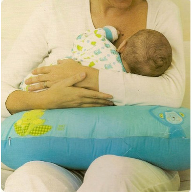 Monkey Infant Support Breast Feeding Pillow. Selvatic Collection.
