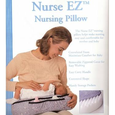Basic Comfort Single Nurse EZ Nursing Pillow (Prints Vary - Blue)