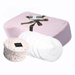 """Pampered Polk a Dot"" - Nursing Pillow Gift Set (Pink)"