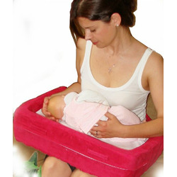 Daval Babies Nursing Pillow - 1st Time Mom, Raspberry