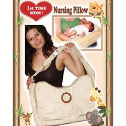 Daval Babies Breastfeeding Pillow - 1st Time MOM (Honey Latte)