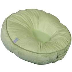 Leachco Podster Plush Infant Lounger - Sage