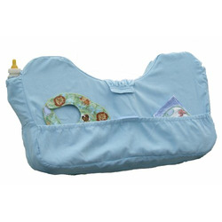 ONA PORTABLE NURSING PILLOW / TOTE - SOFT PINK (LARGE, SKY BLUE)