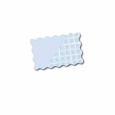 Boppy 2 Sided Signature Slipcover - Blue Mod Squares