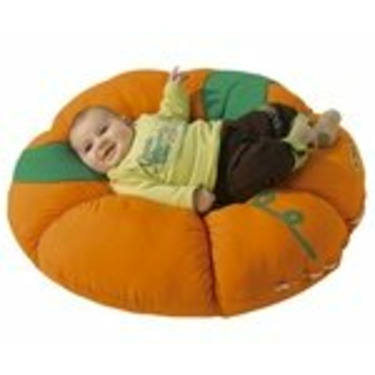 Snuggly Nest Pumpkin Large Cushion by WESCO