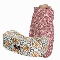 """Funky, Chic n' Simple"" - Matching Nursing Pillow And Nursing Cover Gift Set - Paisley"